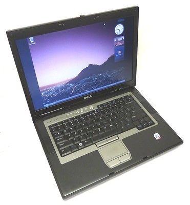 Dell Latitude D830 Laptop Core 2 Duo 2.0GHz 1GB 60GB w/ WiFi & Windows