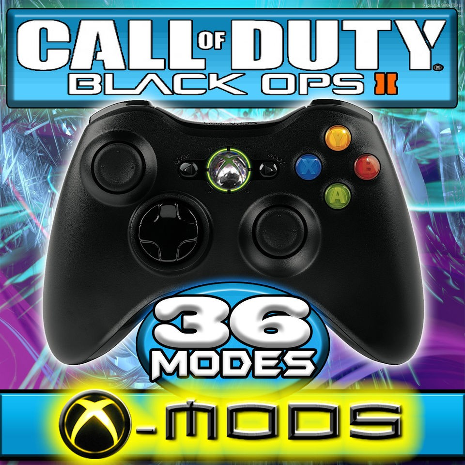XBOX 360 RAPID FIRE CONTROLLER   MOD FITTING INSTALL   CoD BLACK OPS 2