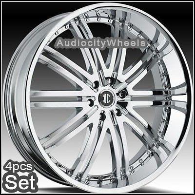 26inch Wheels Rims Chevy Escalade Ford Ram H3 Armada