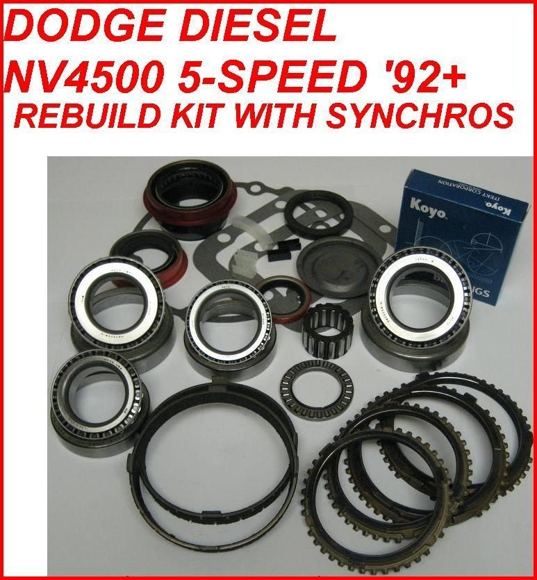 dodge ram transmission rebuild kit in Ram 3500