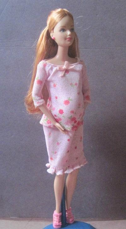 BARBIE HAPPY FAMILY MIDGE & BABY SET MIB 2002 PREGNANT MIDGE DOLL