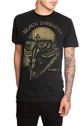 BLACK SABBATH 78 Tour T Shirt   TONY STARK The Avengers IRON MAN
