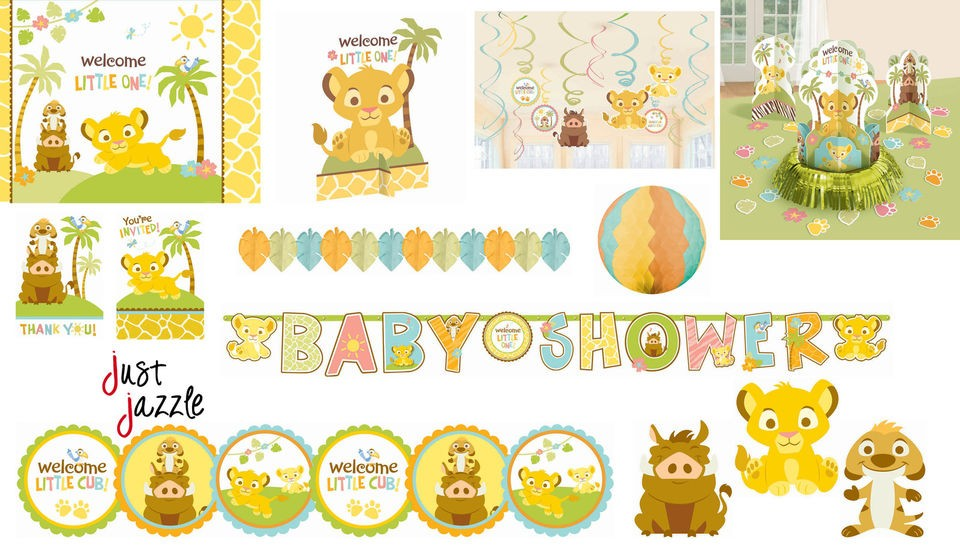 Lion King Baby Shower Party Supplies You Pick Invite
