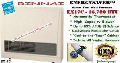 Kozy World 10,000 BTU Blue Flame Natural or Propane Gas Wall Heater