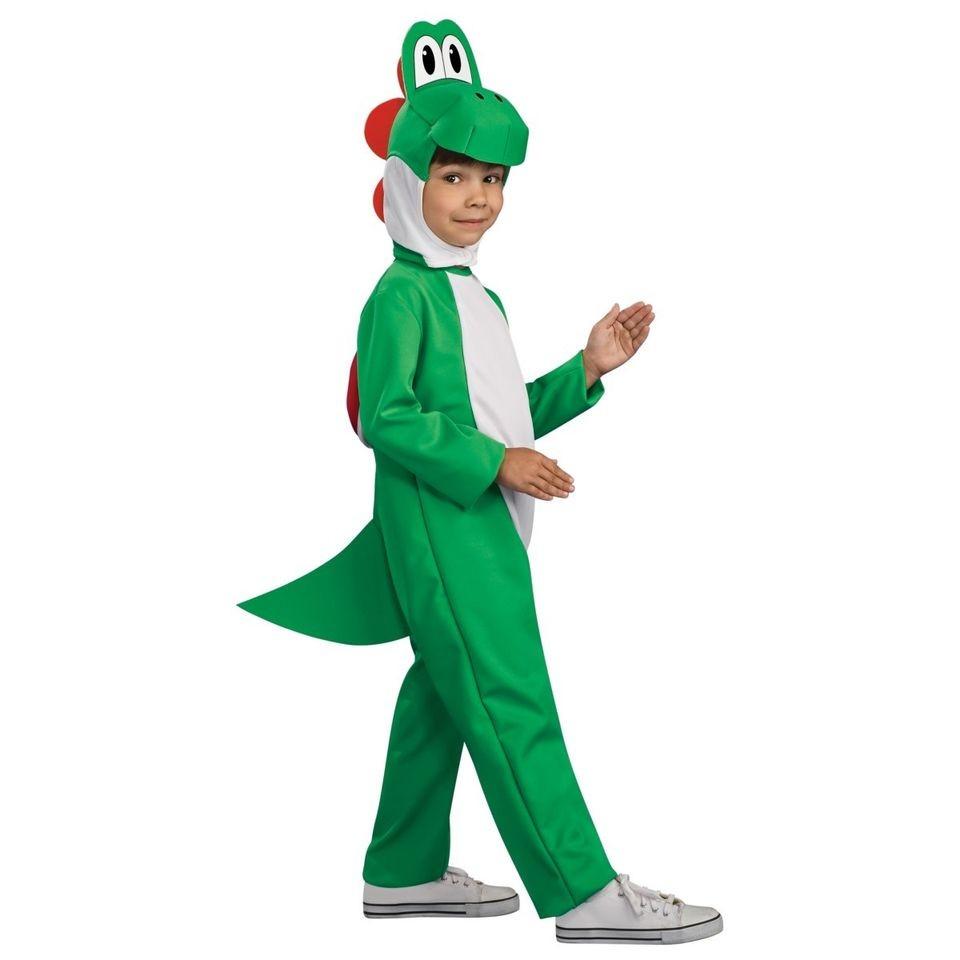 Brand New Child Super Mario Bros Yoshi Halloween Costume Boy Girl