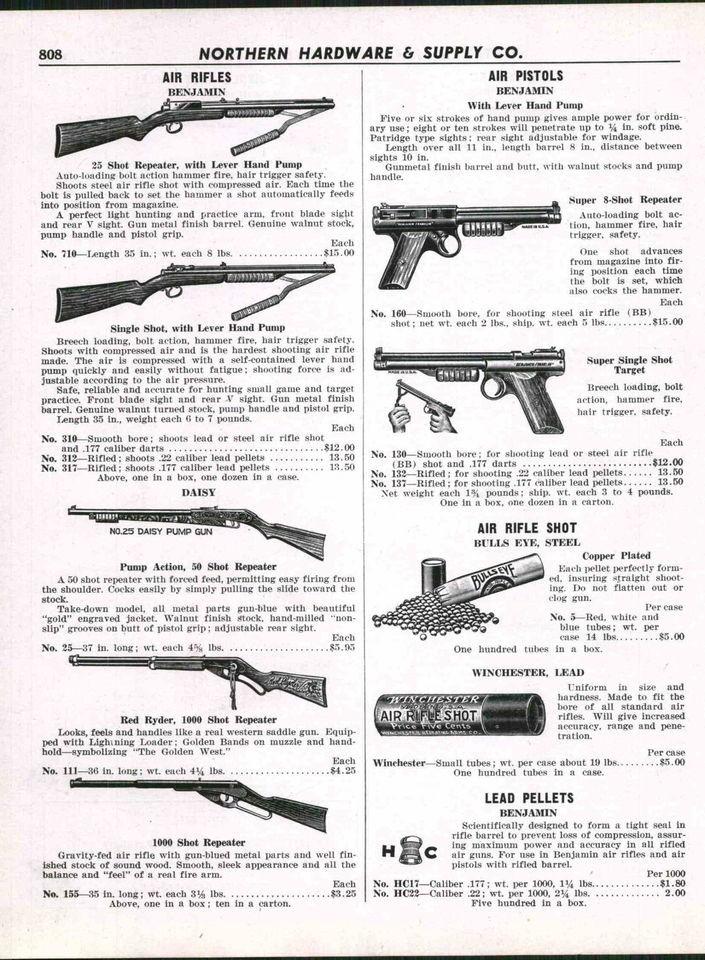 Benjamin Airgun Parts