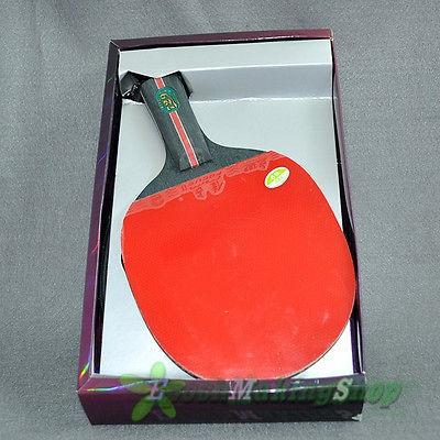 729 2 star Ping Pong Paddle Table Tennis Racket Short handle