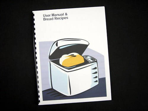 Sunbeam Oster Bread Machine Instruction Manual Recipes