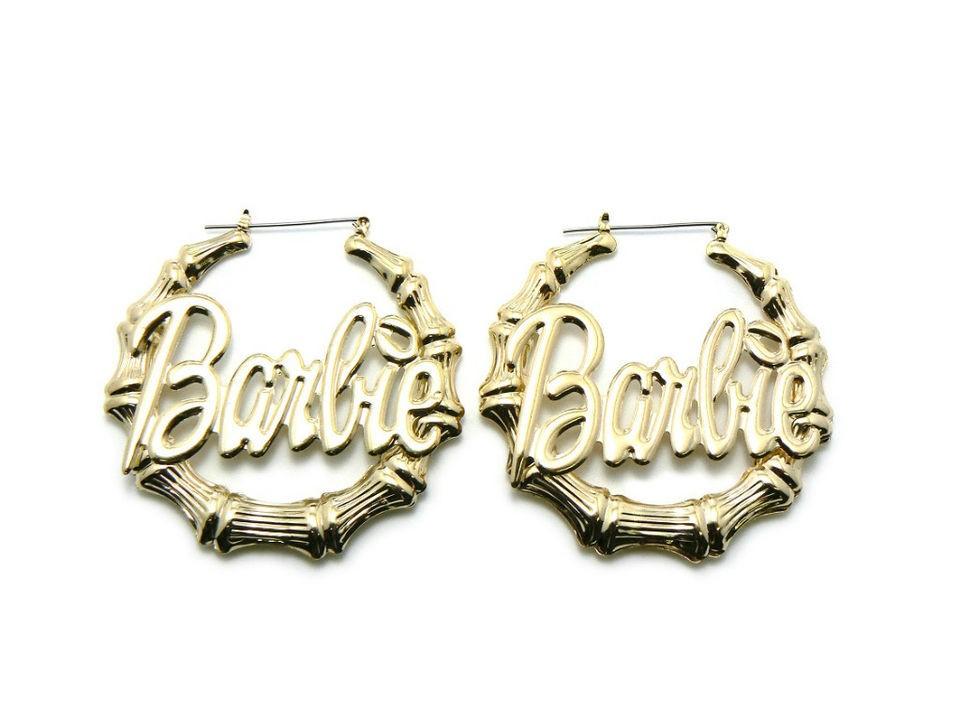 nicki minaj barbie earrings in Jewelry & Watches