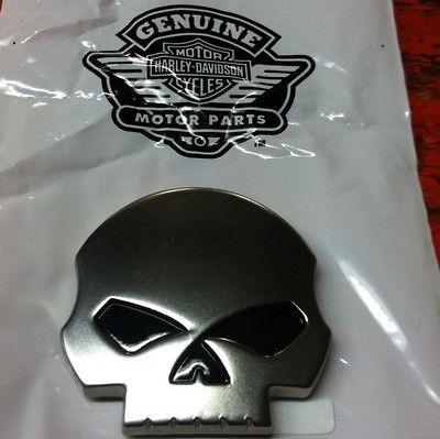 Davidson Willie G Skull Medallion Emblem CVO FLTR Peel & Stick Bagger