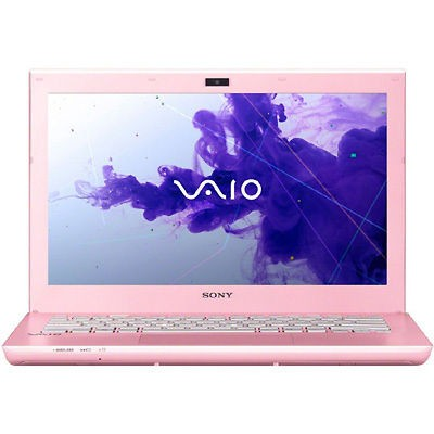 sony vaio laptop pink in PC Laptops & Netbooks