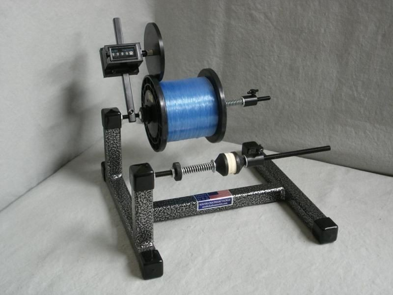 Line winder super spooler with line counter for Fishing line winder