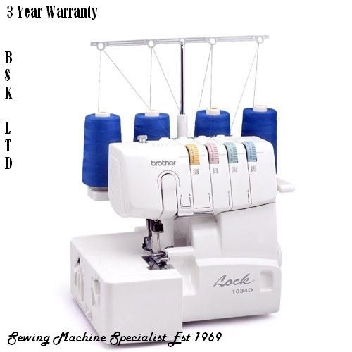 Brand New Brother 40D Overlocker Sewing Machine Interesting Brother Computerized Sewing Machine Sc6600a