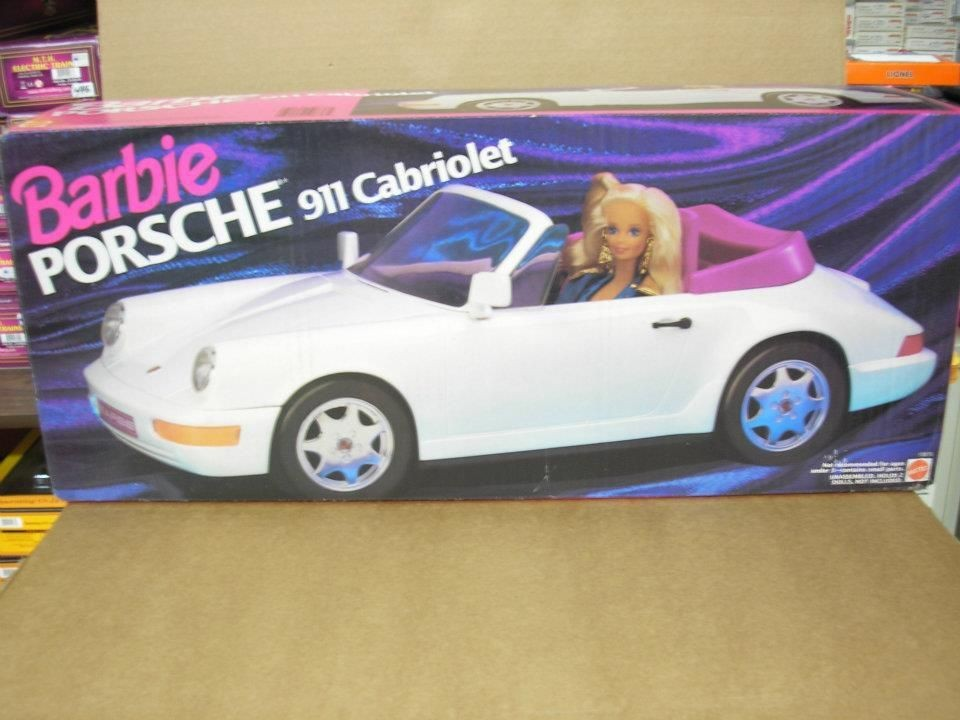 barbie with car