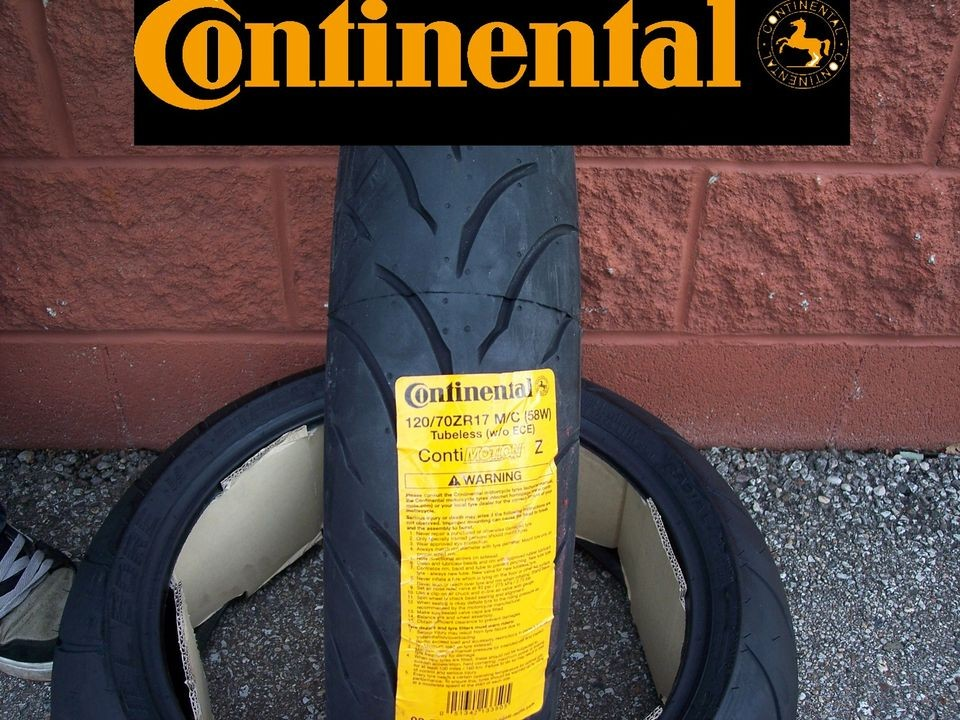 120/70ZR17 FRONT CONTI MOTION SPORT BIKE MOTORCYCLE TIRES   FAST
