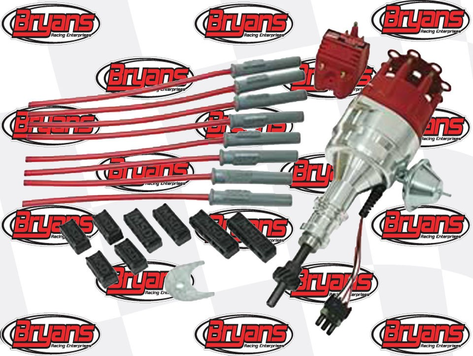 MSD 84746 FORD CRATE ENGINE IGNITION KIT READY TO RUN DISTRIBUTOR 351