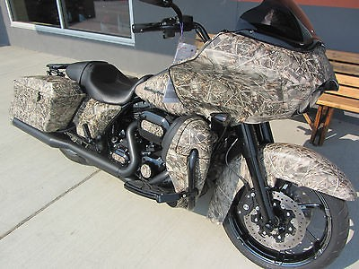 HARLEY DAVIDSON FLTRX CAMO FULL PAINT SET (LESS THAN 1500 MILES)