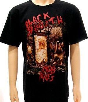 Black Sabbath Rider Rock Men Women T shirt Sz L Retro Vtg Metal Punk