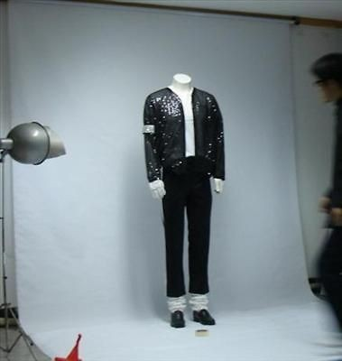 Michael Jackson Billie Jean Jacket & pant &socks & glove