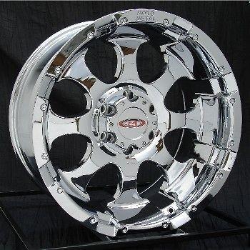 16 inch chrome wheels rims chevy silverado gmc truck moto