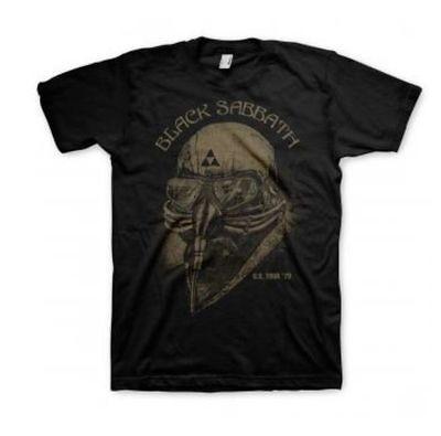 Classic Black Sabbath US TOUR 1978 Graphic T Shirt Never Say Die