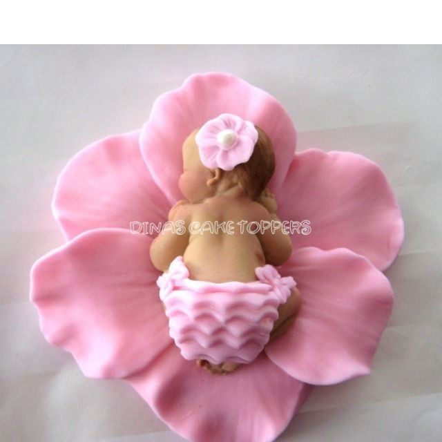 Decorating Ideas > BABY SHOWER Cake Topper Favors Decorations 1st Birthday  ~ 082523_Fondant Cake Topper Ideas