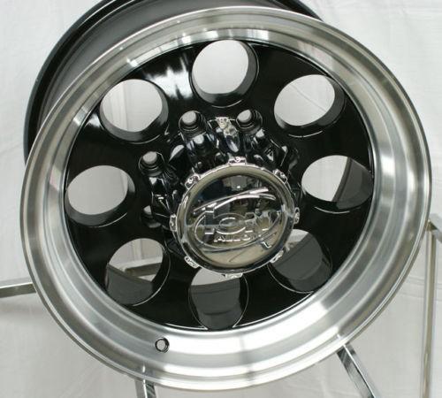15 ion wheels rims black wrangler ranger cherokee time left