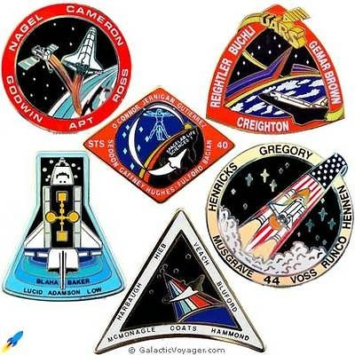 space shuttle mission pin set - photo #28