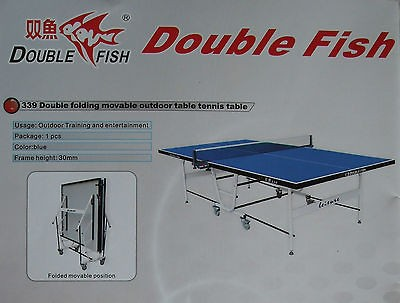 Foldable Aluminum outdoor ping pong table, local pick up (major metro