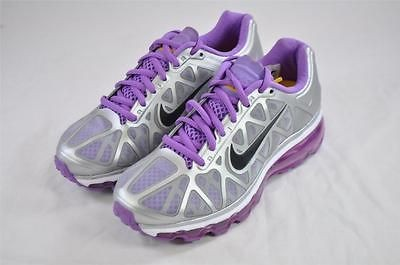 NIKE WMNS AIR MAX+ 2011 LAF 434875 057 SILVER VIOLET LIVESTRONG