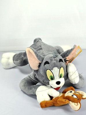 new Tom and Jerry Soft Plush stuffed Plush Cartoon Doll Toy 30cm