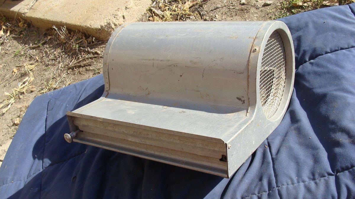 VINTAGE CAR SWAMP COOLER WINDOW AIR CONDITIONER AC CUSTOM HOT RAT ROD