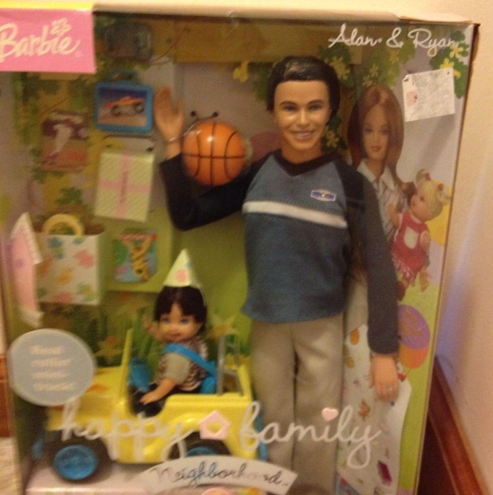 Happy Family Alan Ryan Happy 1st Birthday with Car Barbie 2003
