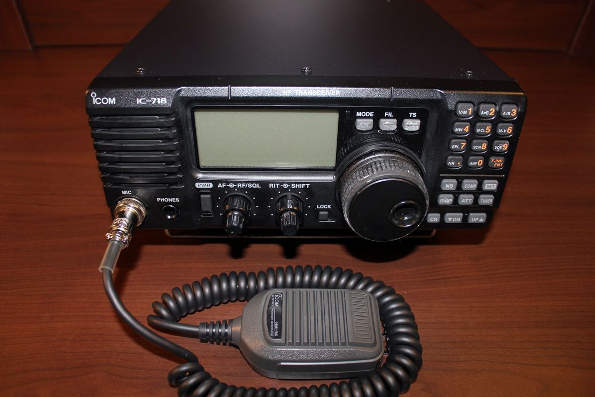 Amateur Radio Icom 718 HF Transceiver Mars Civil Air Patrol