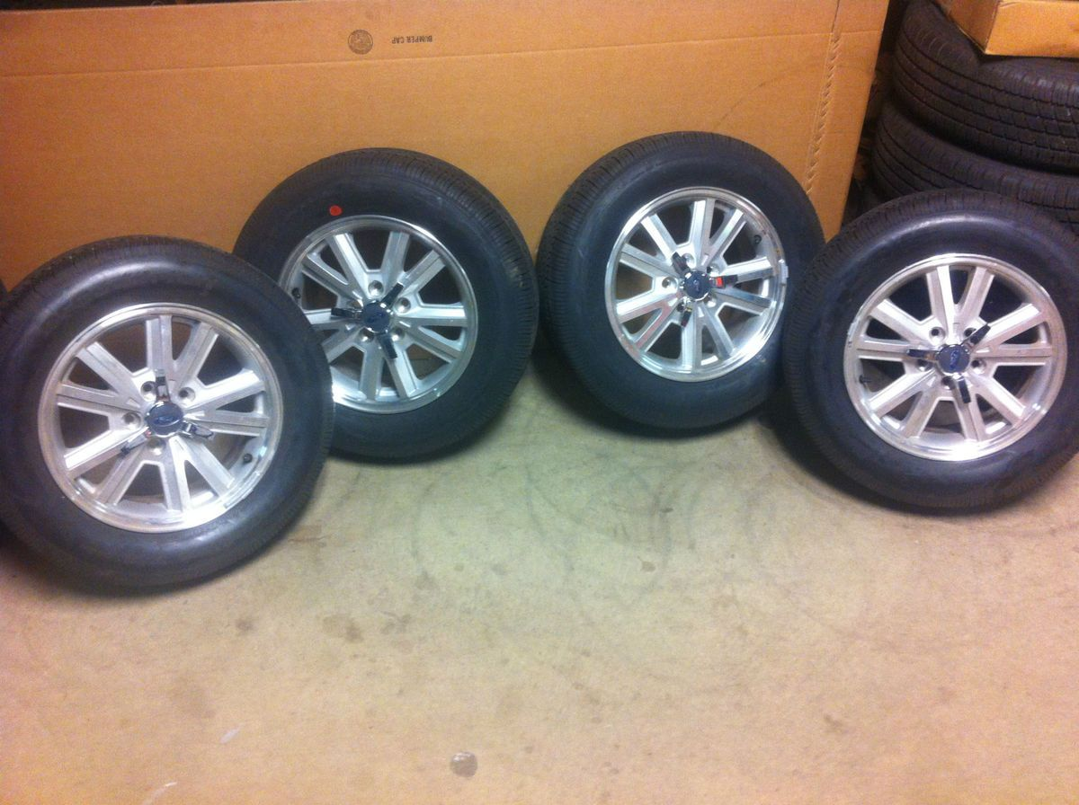 2005 2009 Ford Mustang Car 16 Factory Wheels Rims Tires Set New Take