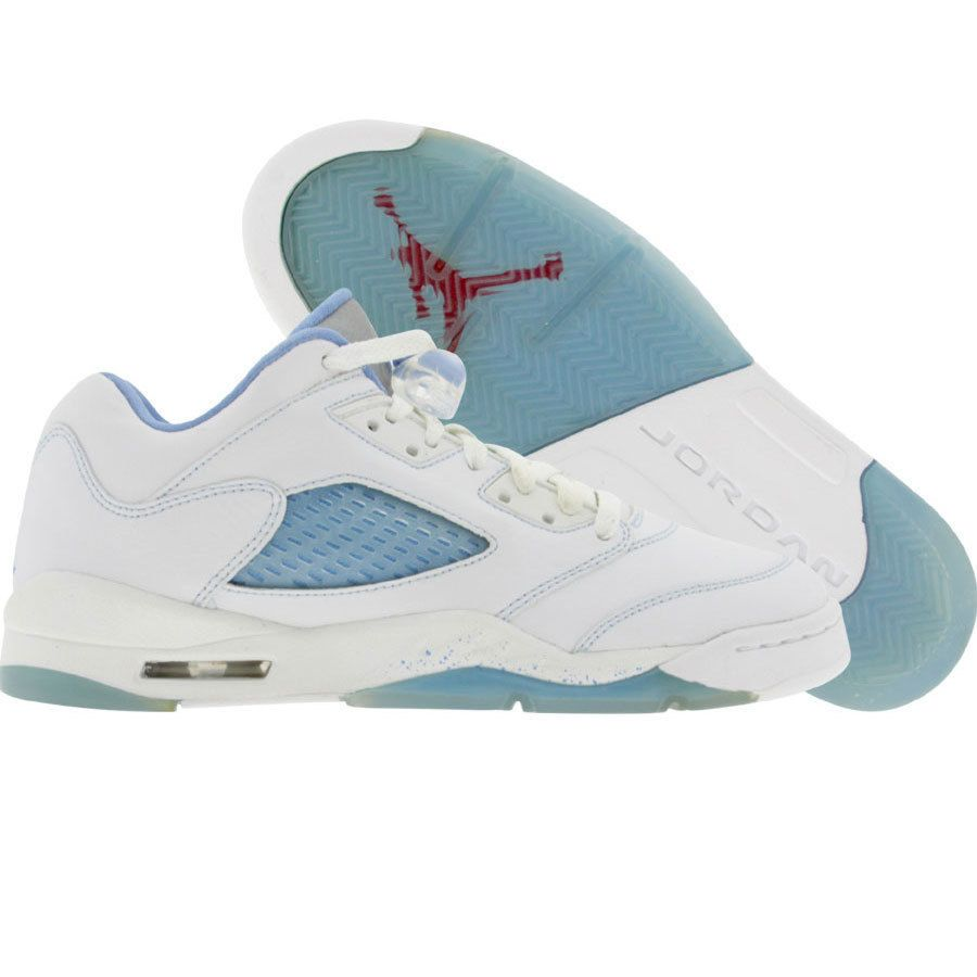 7bb987fb7b13 80.00 314338 141 Big Kids Nike Air Jordan 5 V Retro Low (white