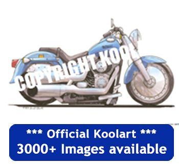 Koolart Harley Davidson Fat Boy Case for iPod Touch Gen 4 FREE P&P