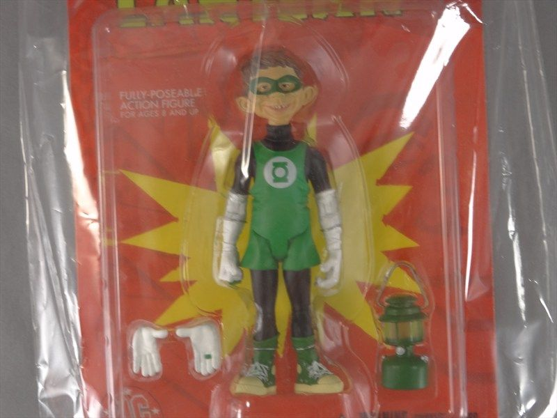 Mad Alfred E Newman Green Lantern Stupid Heroes Just US League Action