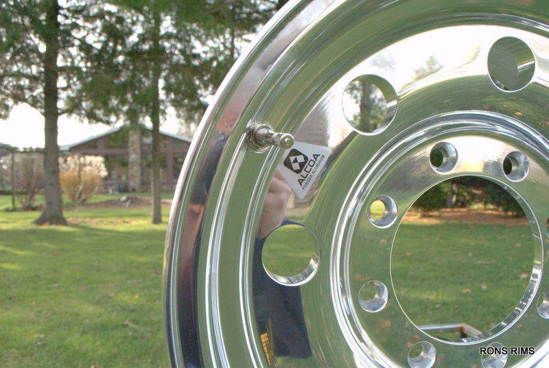 Alcoa Trailer 16x7 Classic 8 Lug Ford Chevy GMC Dodge 167041 Wheel