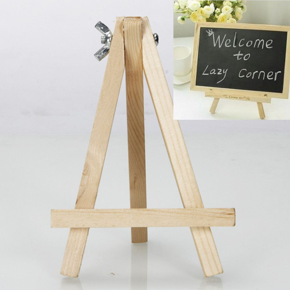9inch Artist Easel Wood Tripod Table Top Easel Display Drawing