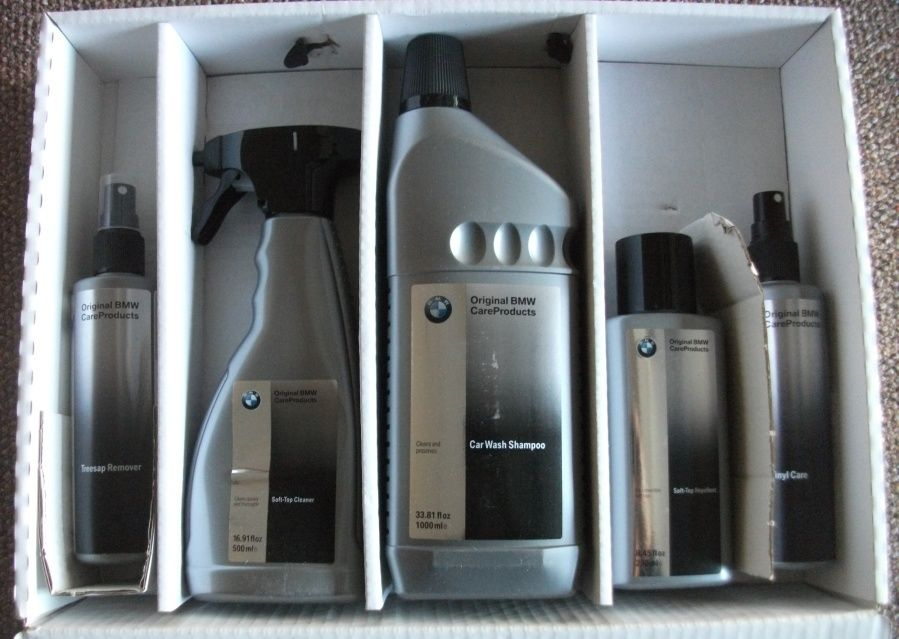 Piece Original Bmw Car Care Detail Product Kit
