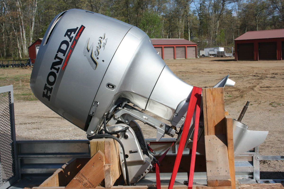 NEW not refurb Honda BF 130 A Outboard engine with controls