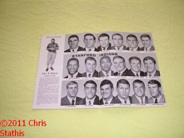 Indians vs UCLA Bruins College Football Program Gary Beban Heisman