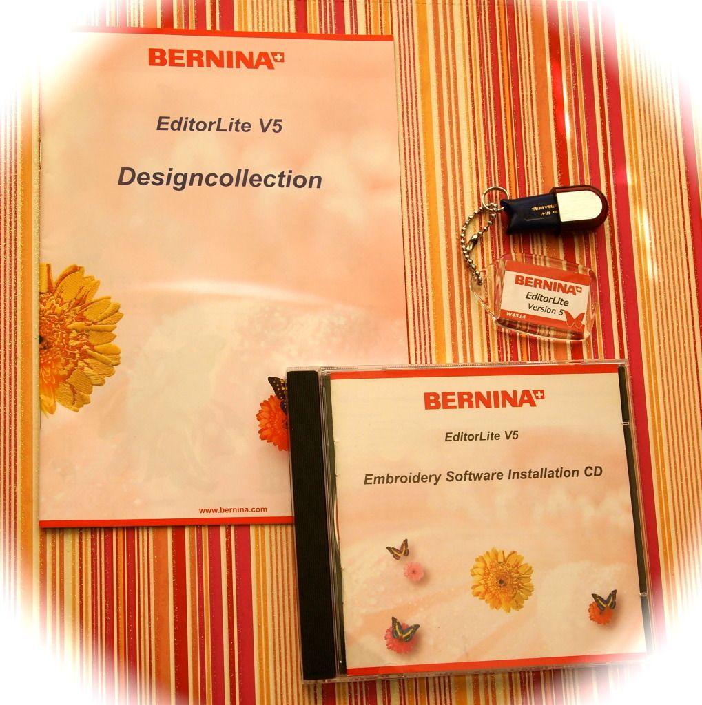Bernina Editor Lite Embroidery Software Version V 5 New