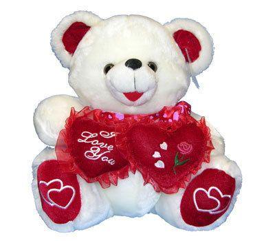 New Valentine Day Teddy Bear I Love You Stuffed Animal Plush Gift