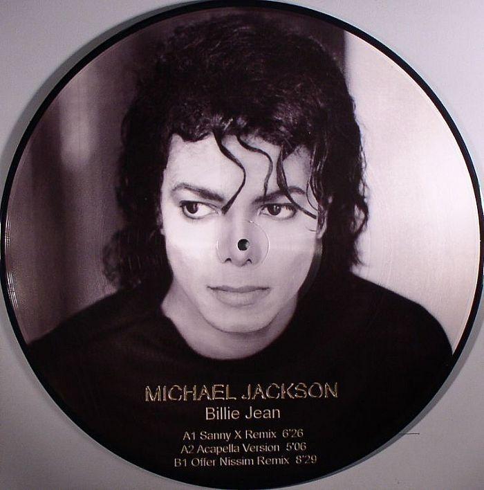 Michael Jackson Billie Jean 12 Vinyl Picture Disc Remix Single