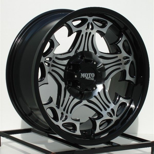 17 inch Black Wheels Rims Chevy Truck GMC 1500 6 Lug