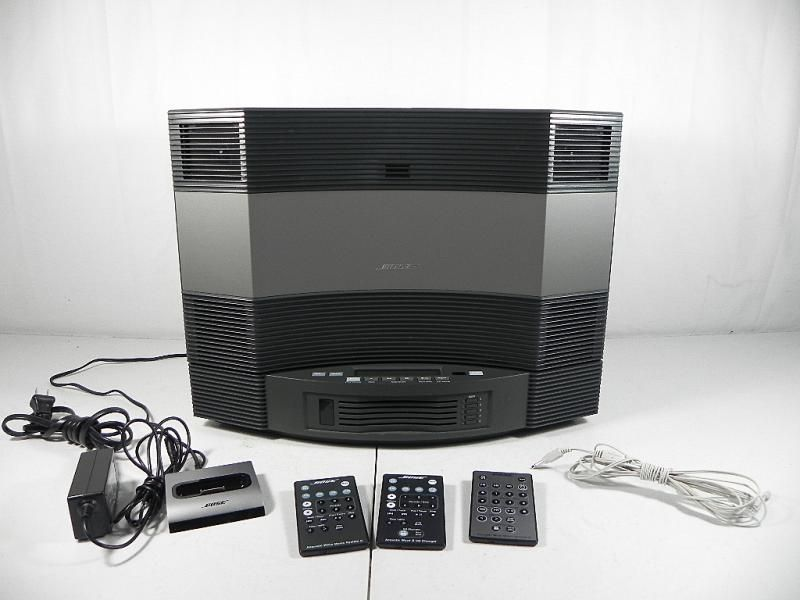 bose acoustic wave music system ii 5 disc cd changer ipod dock connect