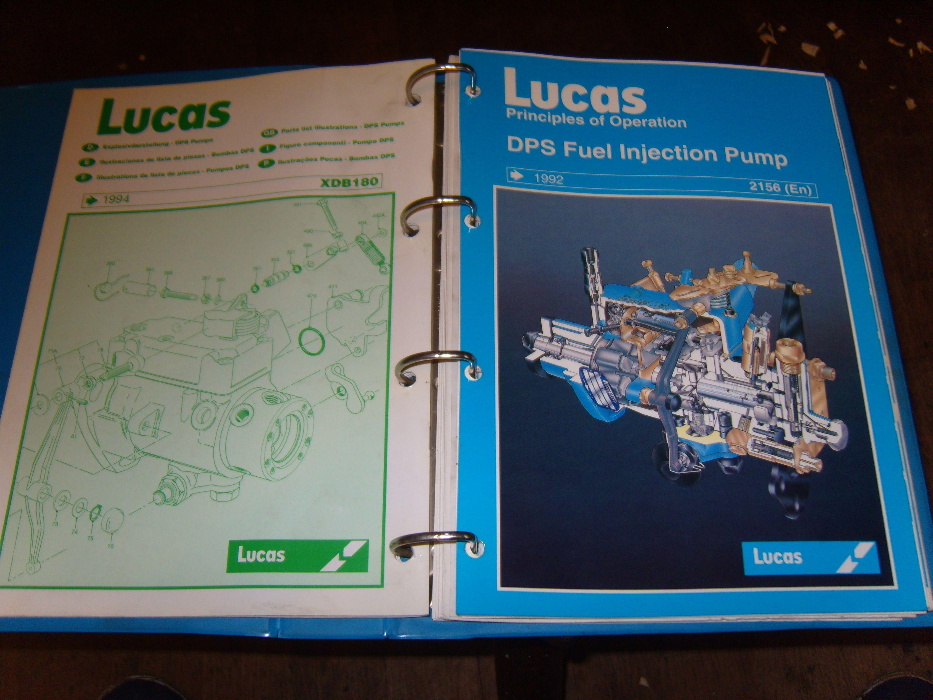CAV DPS Fuel Injection Pump Workshop Manual Lucas CAV Service Training