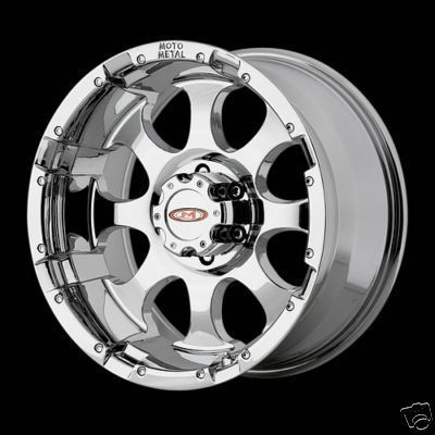16 Inch MO955 CHROME RIMS 8 Lug Wheel Chevy GMC 2500 HD Truck 8x6 5